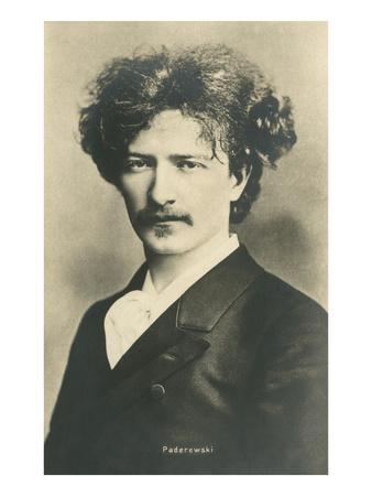 Photo of Ignacy Jan Paderewski--Art Print