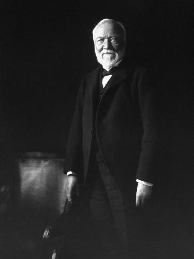 Photo of Industrialist Andrew Carnegie-Stocktrek Images-Photographic Print