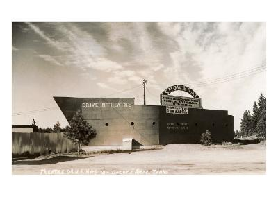 Photo of Showboat Drive-In Theater--Art Print