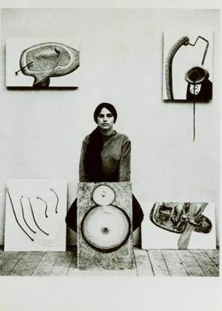 Photograph of Eva Hesse, C.1965