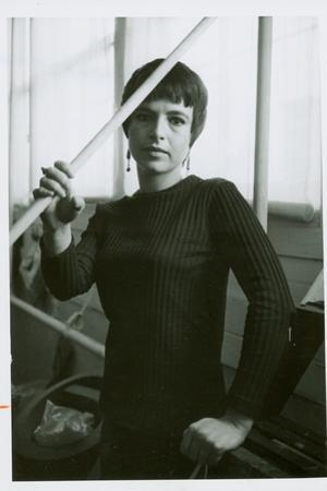 Photograph of Eva Hesse, C.1969
