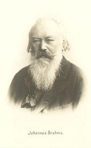 Photograph of Johannes Brahms