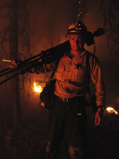 Photographer on Assignment Covering Forest Fires-Mark Thiessen-Photographic Print