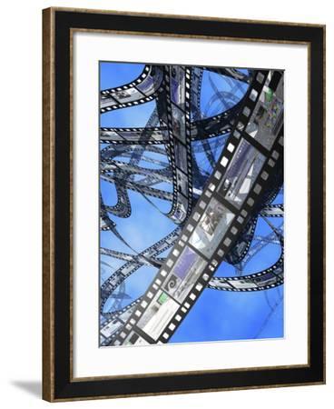 Photographic Film, Computer Artwork-Christian Darkin-Framed Photographic Print