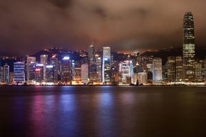Skyline of Hong Kong Island by Photography by Jeremy Villasis. Philippines.