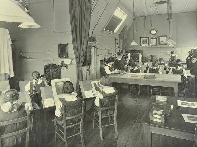 Photography Students, Bloomsbury Trade School for Girls, London, 1923--Photographic Print