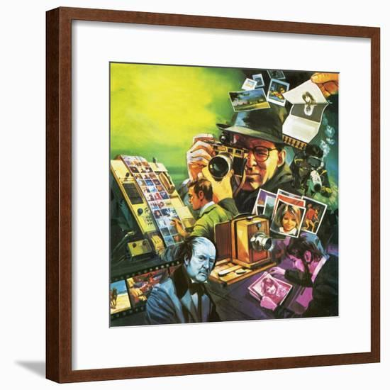 Photography-English School-Framed Giclee Print