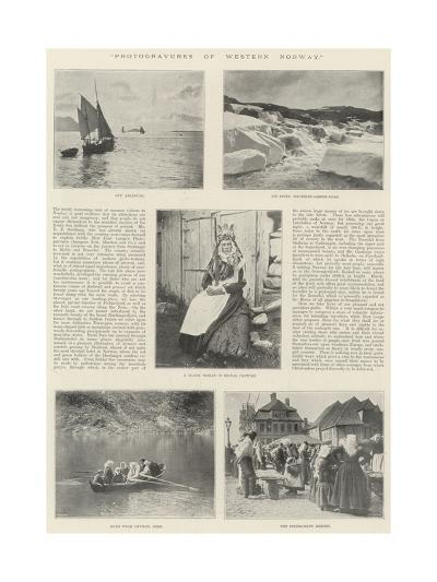 Photogravures of Western Norway--Giclee Print