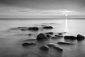 Rocks in Mist by PhotoINC