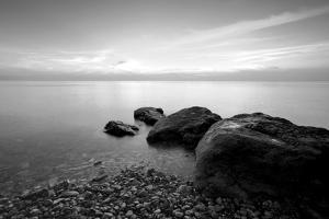 Rocks on Beach by PhotoINC