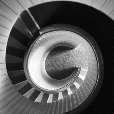 Spiral Staircase No. 4 by PhotoINC Studio