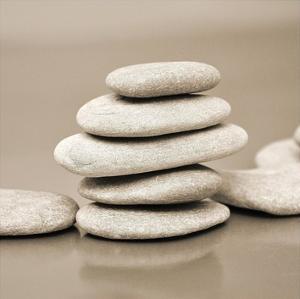 Zen Pebbles by PhotoINC Studio