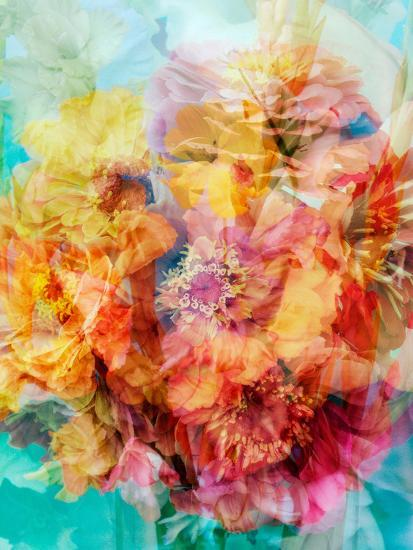Photomontage of a Bouquet-Alaya Gadeh-Photographic Print