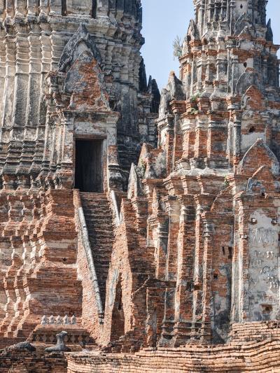 Phra Nakhon Si Ayutthaya Old Siam Tempel-Terry Eggers-Photographic Print