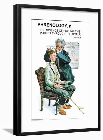 Phrenology--Framed Art Print