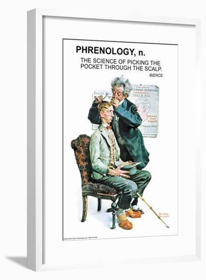 Phrenology--Framed Art Print