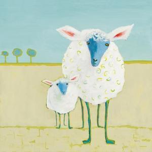 Colorful Sheep by Phyllis Adams