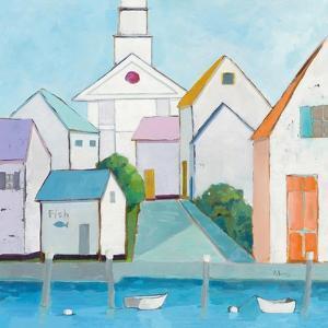 Harbor Town III by Phyllis Adams