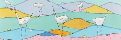 Marsh Egrets I Pink Sand