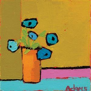 Orange Vase by Phyllis Adams