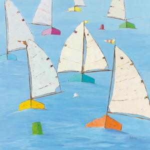 Regatta V by Phyllis Adams