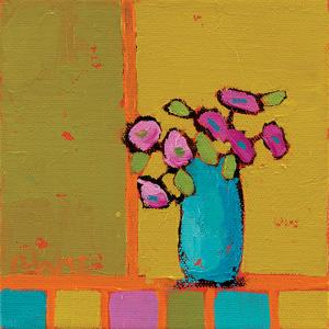 Turquoise Vase by Phyllis Adams
