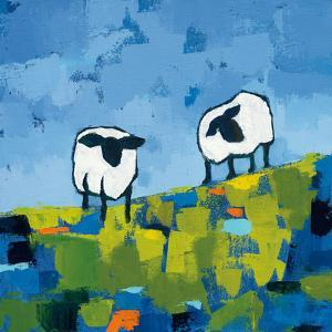 Two Sheep by Phyllis Adams