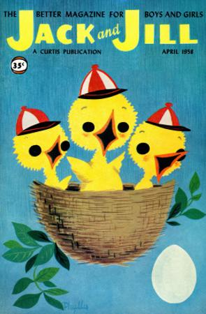 Baby Birds - Jack and Jill, April 1958