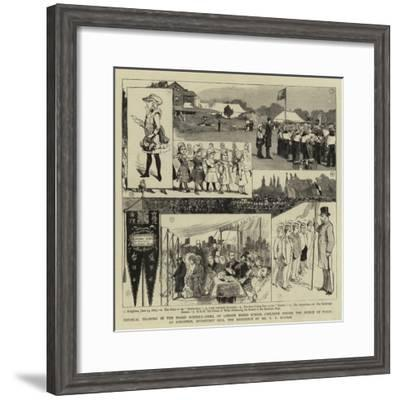 Physical Training in the Board Schools--Framed Giclee Print