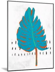 Blue Tropical Leaf I by PI Creative Art