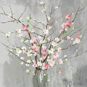 Delicate Pink Blooms by PI Creative Art