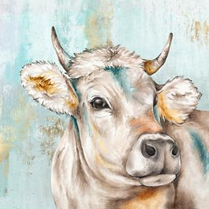 Headstrong Cow I by PI Creative Art