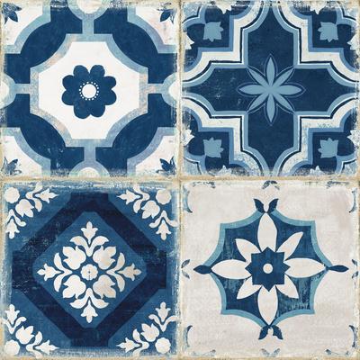 Indigo Mosaic Tile II
