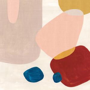Pink Pebbles III by PI Creative Art