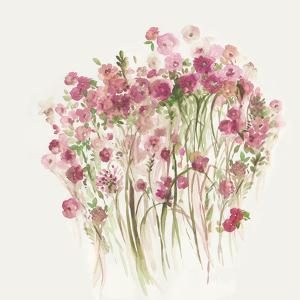 Pink Spring Garden by PI Creative Art