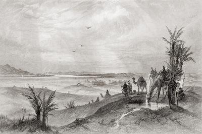 Pi Hahiroth and the Red Sea--Giclee Print