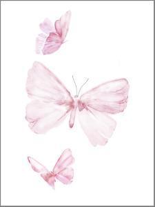 Pink Butterflys I by PI Juvenile