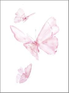 Pink Butterflys III by PI Juvenile