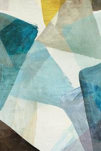 Blue Geometric I by PI Studio