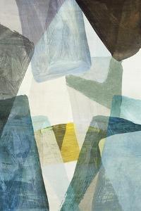 Blue Geometric II by PI Studio