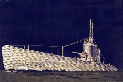 Blueprint Submarine II by PI Studio