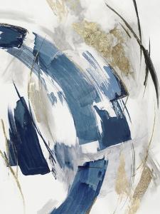 Indigo Crescent II by PI Studio