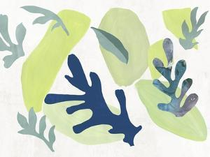 Scattered Leaves I by PI Studio