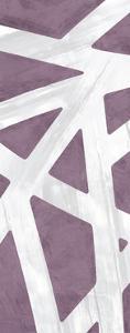 Striped Purple III by PI Studio