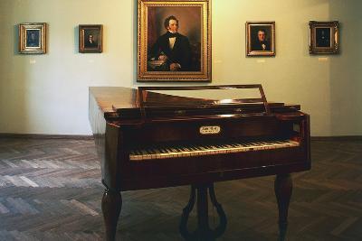 Piano Hall, Birthplace of Franz Peter Schubert (1797-1828), Vienna, Austria--Giclee Print