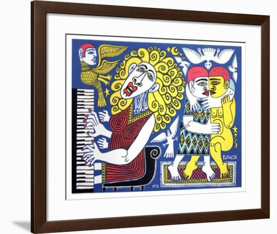 Piano Player-Rex Clawson-Framed Limited Edition