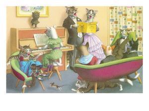 Piano Recital for Cats