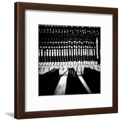 Piano V-Jean-François Dupuis-Framed Art Print