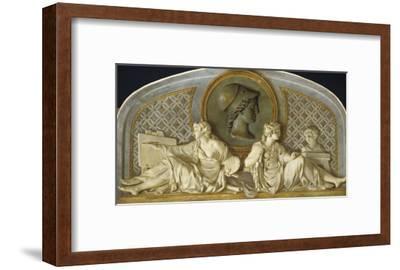 La Peinture et la Sculpture protégées par Minerve