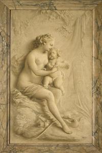 Venus and Cupid by Piat-Joseph Sauvage